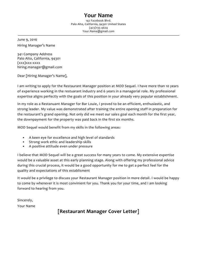 66+ Cover Letter Samples and Correct Format to Write it