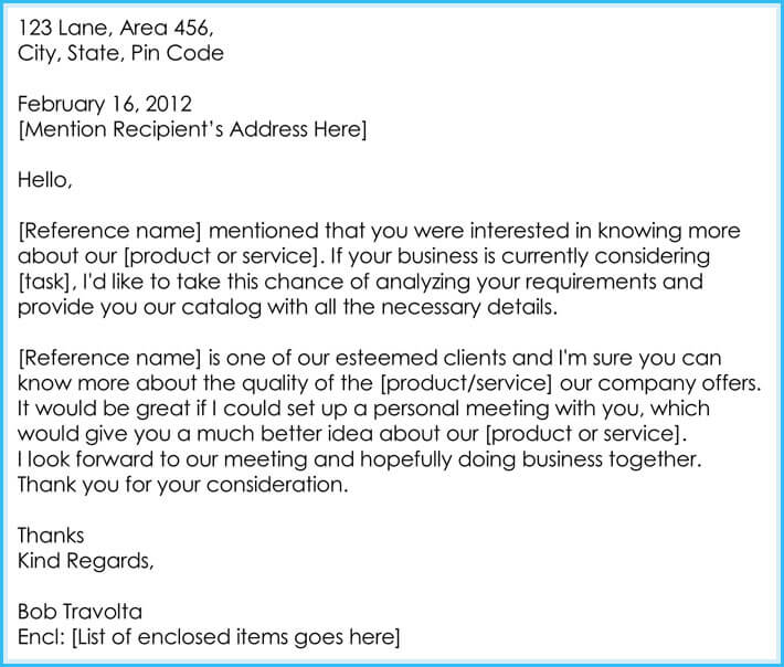 Sample Business Appointment Request Letter