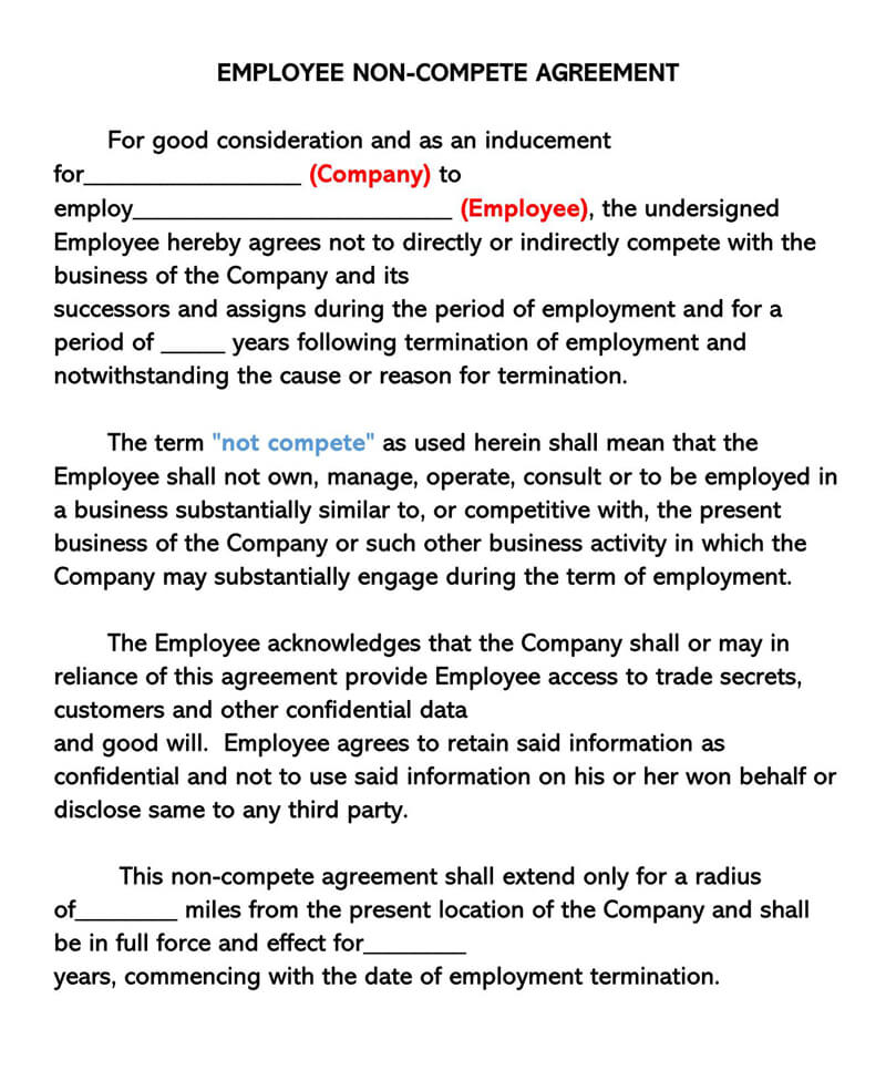 Sample-Employee-Non-Compete-Agreement-Template