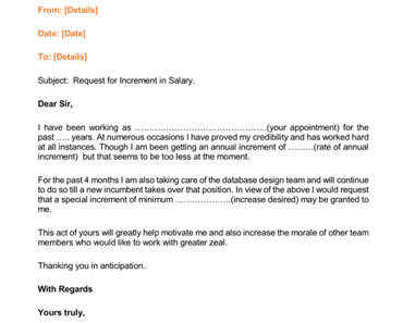 Secretary asking for salary increase - 3 part 8