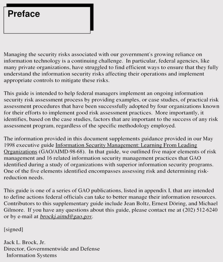 Security Risk Assessment Method