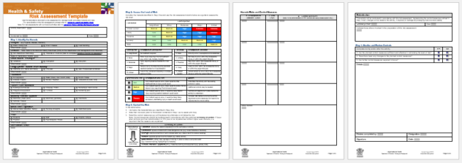 Security Risk Assessment Template