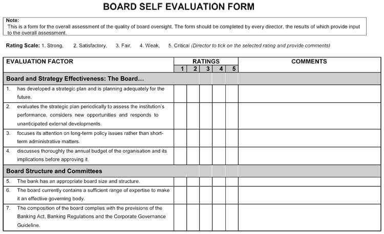 self evaluation performance appraisal examples