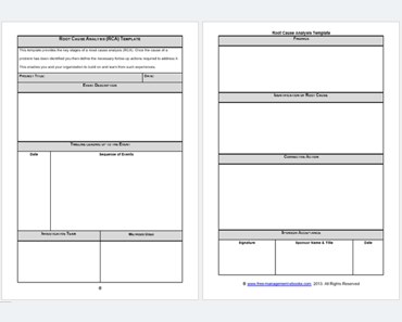 root cause failure analysis template - 24 root cause analysis templates word excel powerpoint