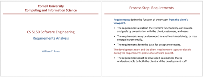 Software Engineering Requirements Analysis Template