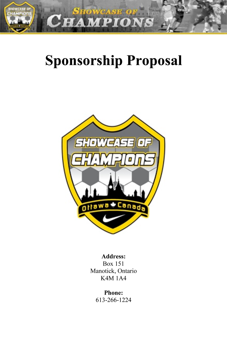 Sponsorship Letter For Sports Team