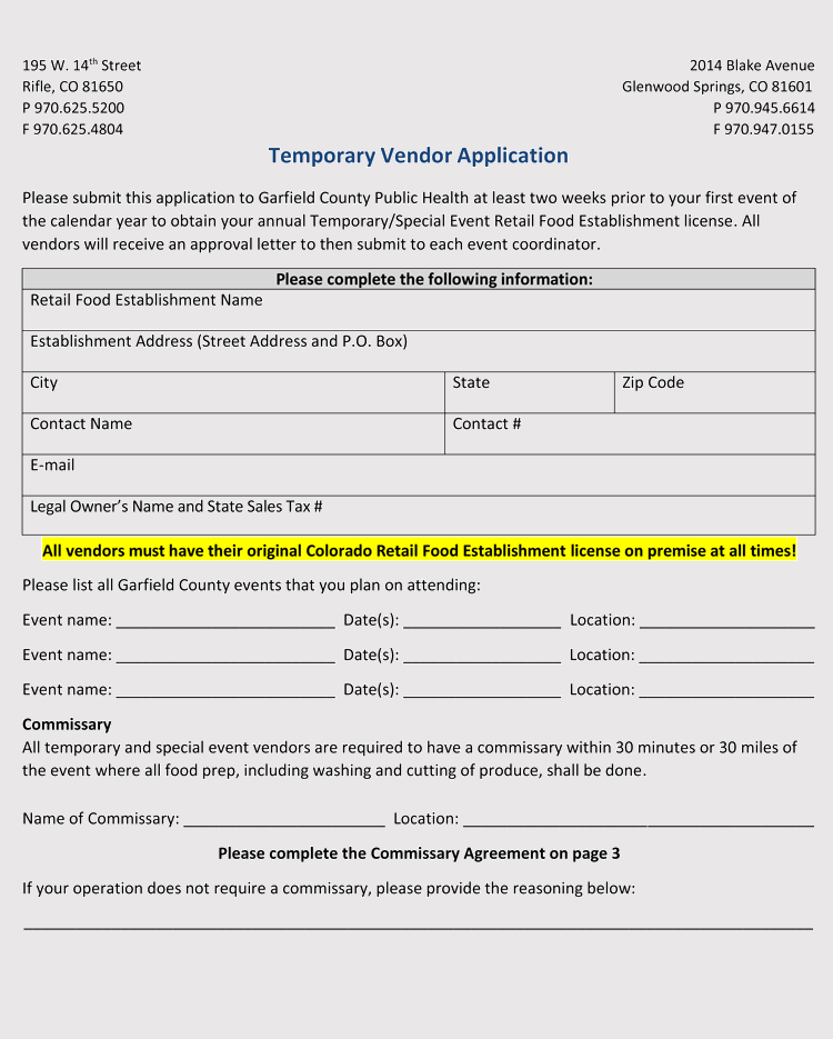 Vendor-Example-10 Vendor Application Form Examples on swgc online, chinese visa, student year, social security, formal job, credit card, passport renewal, teaching job, blank job,
