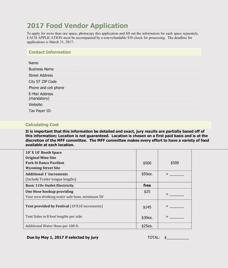 9  printable blank vendor registration form templates  for word  pdf