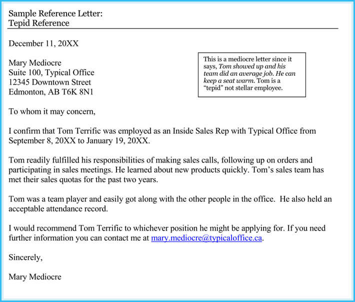 Volunteer Reference Letter   Best Samples To Write One For Yourself