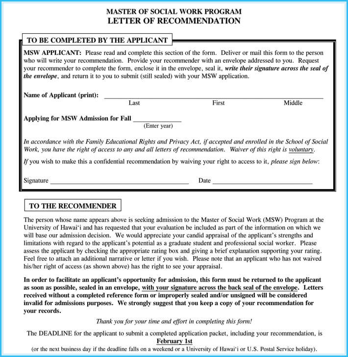 Writing A Work Reference Letter 7 Best Sample Letters And Templates