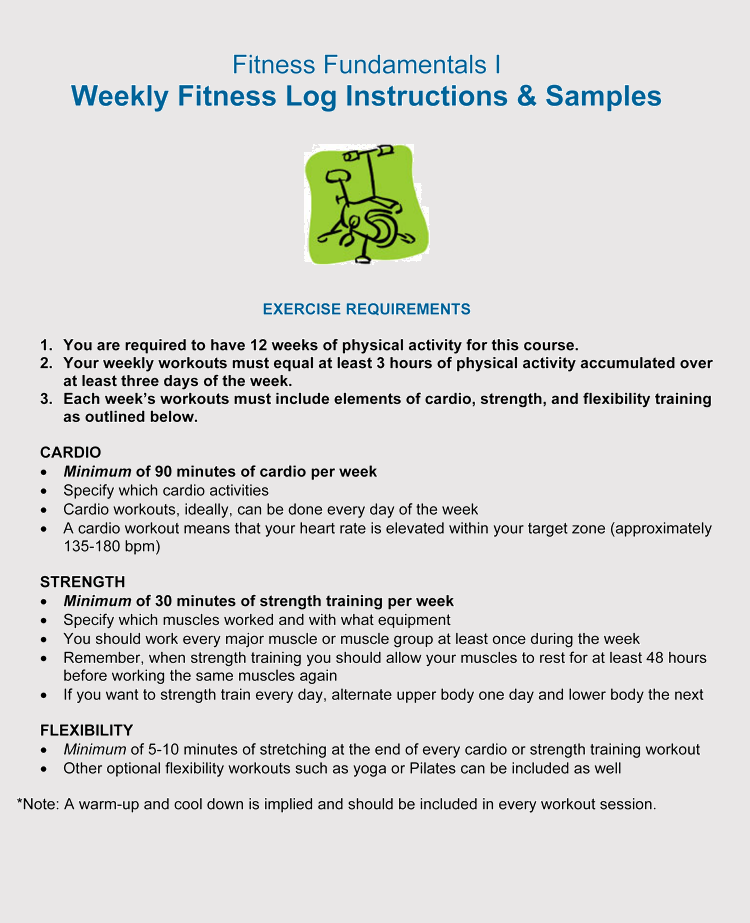 picture relating to Printable Workouts named 12+ Blank Exercise routine Log Sheet Templates in the direction of Observe Your Improvements