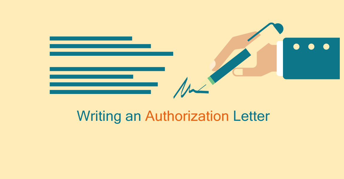 Writing an authorization letter