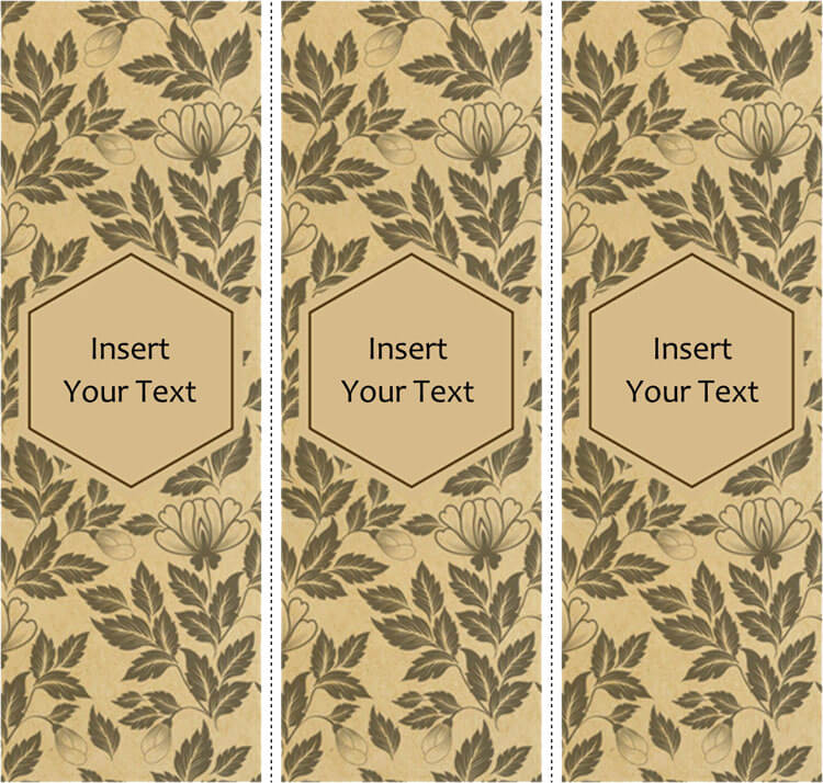 28  free bookmark templates  design your bookmarks in style