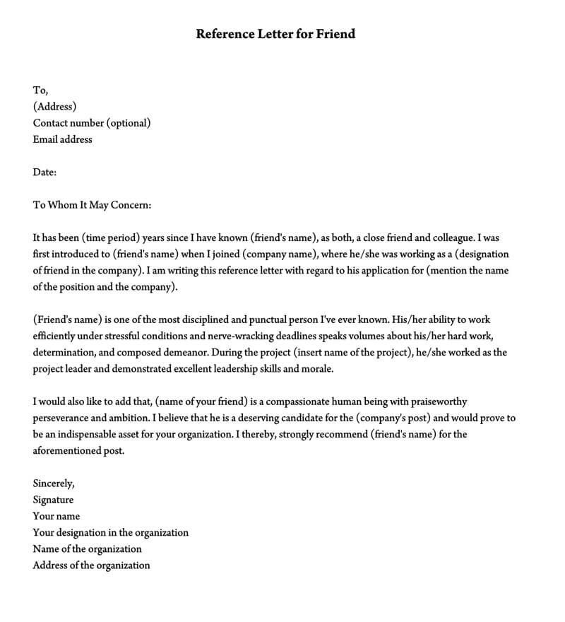 Character Reference Letter Template Word from www.wordtemplatesonline.net