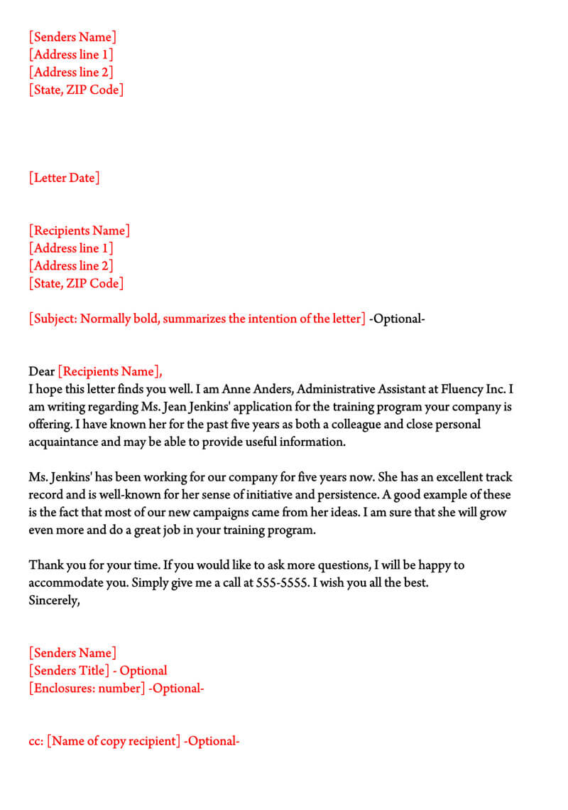 Character Reference Letter For Job from www.wordtemplatesonline.net