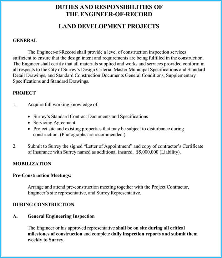 Contractor Appointment Letter 7 Samples Formats