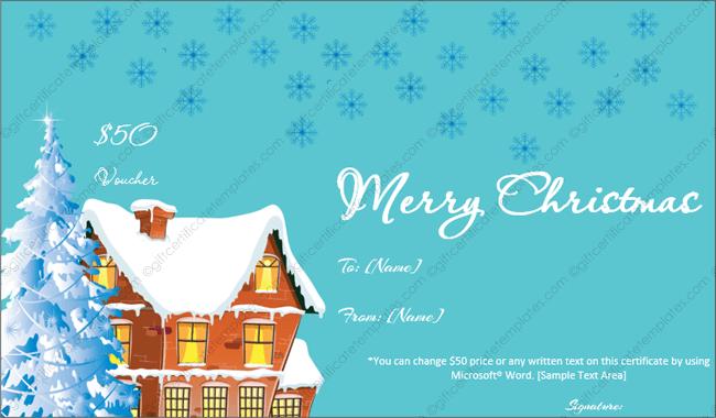 ... editable christmas gift template free ...
