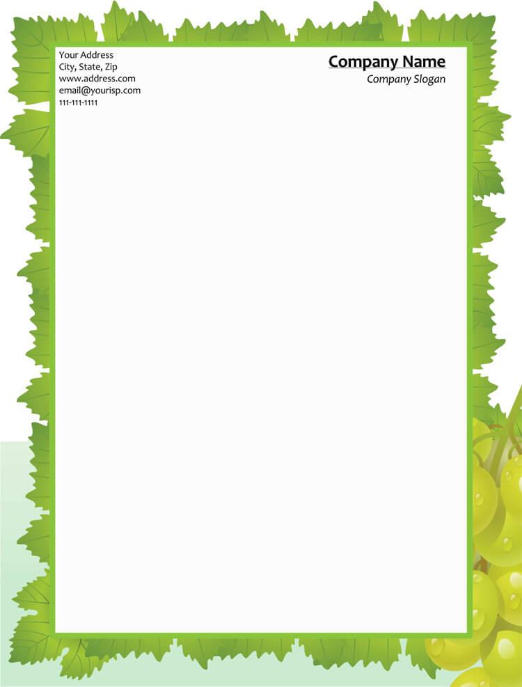free letterhead design