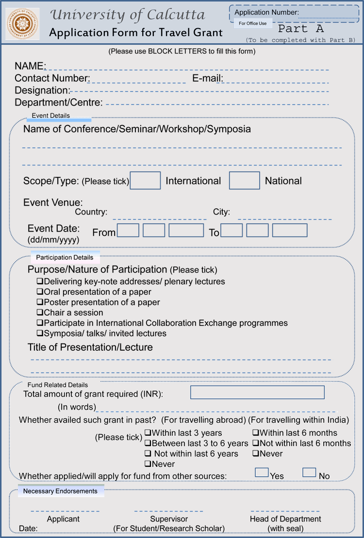 Funding Application Example