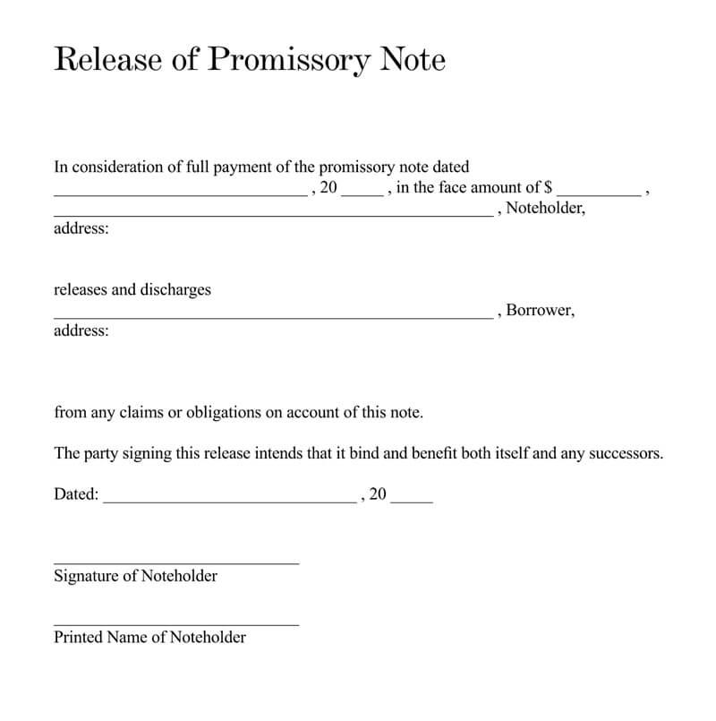 loan release letter pdf