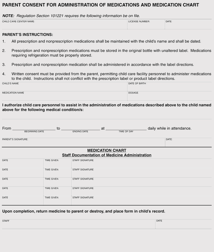 Free Consent Form Template