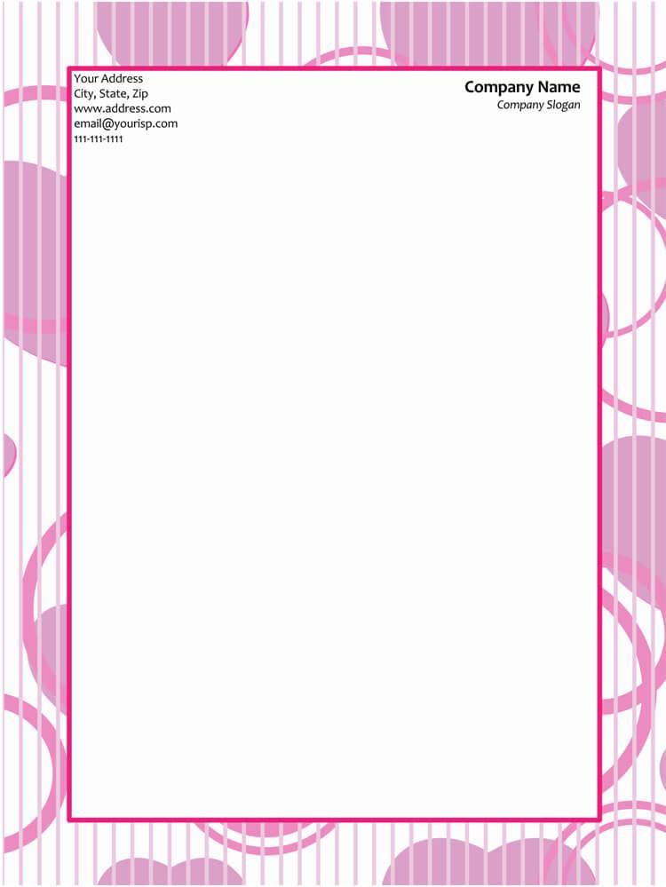 official letterhead