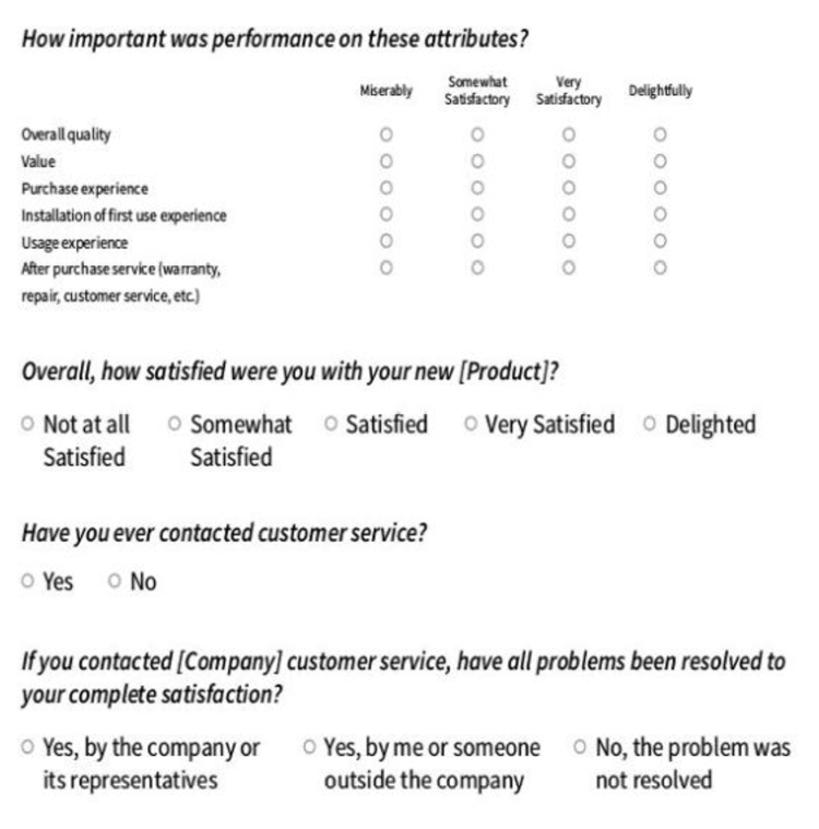12  free product satisfaction survey templates  for word
