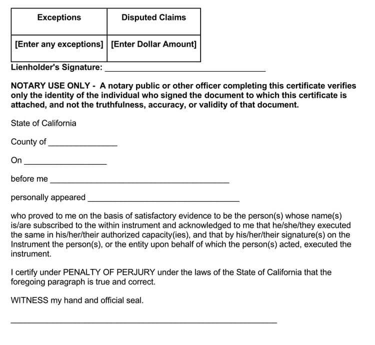 property lien release