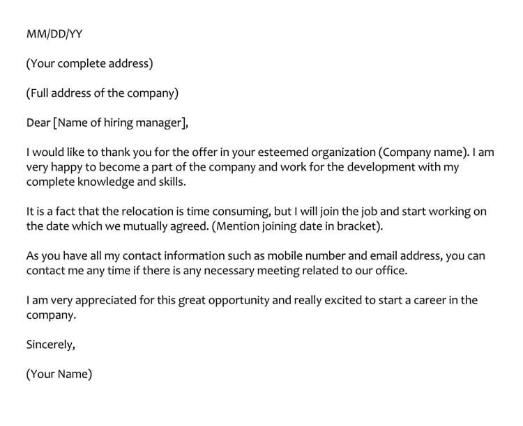 thank you letter for interview example