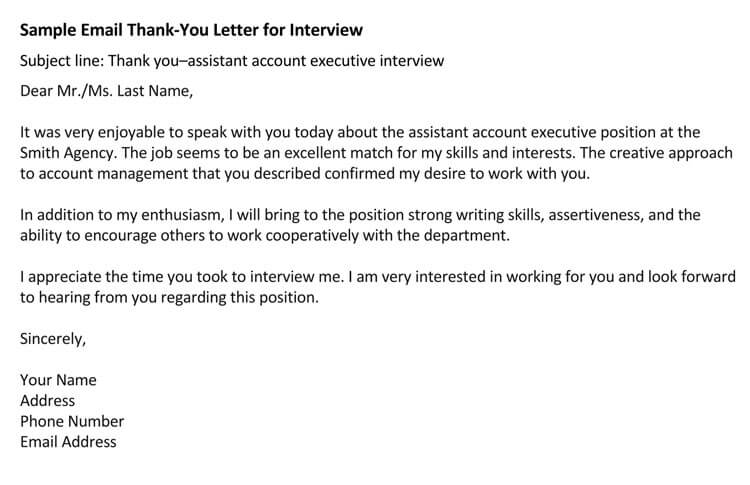 Thank You For The Interview Letter Sample from www.wordtemplatesonline.net